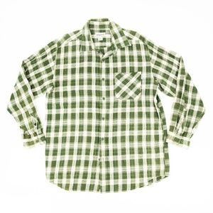 Carhartt Button Shirt Long Sleeve Plaid Checkered